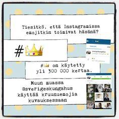 Tiesitkö, että Instagramissa emojitkin toimivat häsänä? #Somevinkki by Piilotettu Aarre.