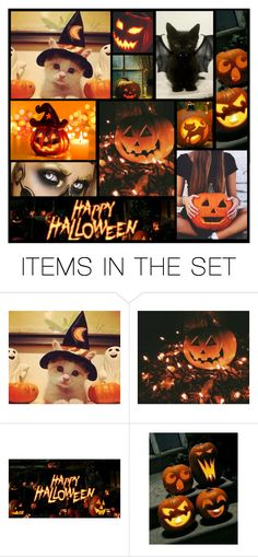 """""""happy halloween"""" by heartandsoul ❤ liked on Polyvore featuring art"""