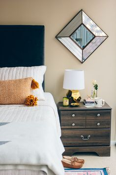 How to Make Guests Feel at Home During the Holidays , guest room decor —via @TheFoxandShe