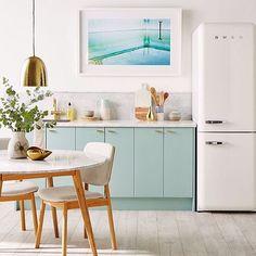 Kitchen goals 👌 #kitchen #goals #interiordesign #interior #mint 📷 by @reallivingmag and the uber talented @kerrieann_jones_stylist