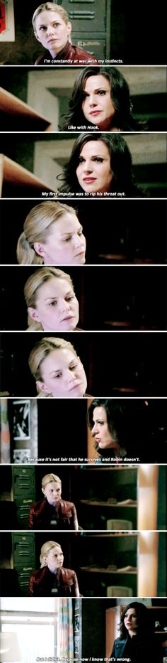 """Emma Swan and Regina - 5 * 22 """"Only You"""" - 5 * 23 """"An Untold Story"""""""
