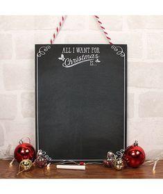 Set tablita si creta All I want for Christmas - Cadouri GiftForYou All I Want For Christmas, Creta, Things I Want, Design