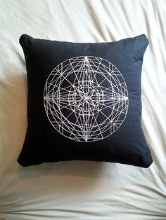 Mandala pillow by OPAL, UK.