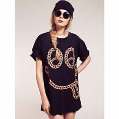 Tricou Perth Perth, Chain, T Shirt, Women, Fashion, Supreme T Shirt, Moda, Tee Shirt, Fashion Styles