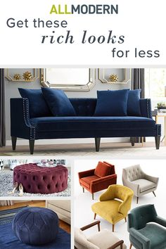 Live like a queen (or king!) by drenching your home in luxurious color. With furniture and decor in deep hues like oxblood, emerald and ochre, your home will have friends and family bowing down to you and your new jewel tones. Visit AllModern today and sign up for exclusive access to deals for your modern home. Free shipping on orders over $49!