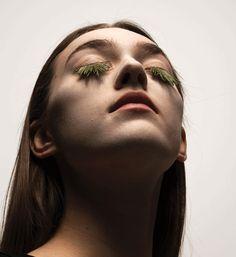 mary graham fake eyelashes with foliage   SamyRoad