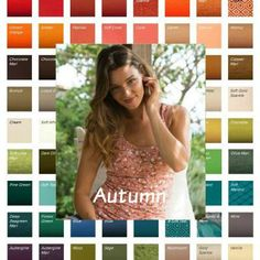 Autumn is always Warm, Deep and Muted #Autumn #color analysis  http://www.style-yourself-confident.com/soft-autumn.html
