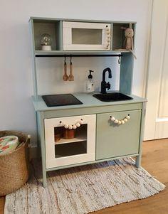 ikea duktig kitchen #diy #earlydew #wood #kids