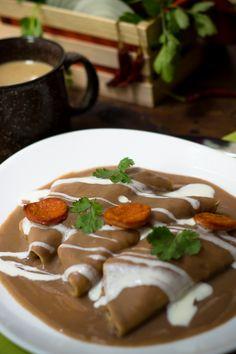 Te enseñaremos como hacer enfrijoladas de una manera muy fácil siendo este un platillo típico de la región de Oaxaca en México. Consisten en tortillas de maíz bañadas en salsa de frijol. Pueden ir rellenas de huevos revueltos, de pollo o solas.