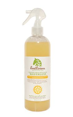 Green  Squeaky Clean Waterless Shampoo, from EcoLicious Equestrian, Inc.