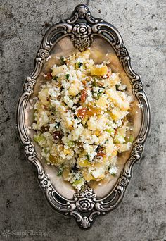 "…or, by another name, ""couscous."" 