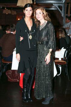 Giovanna Battaglia, Aurélie Bidermann Photo: BFA NYC