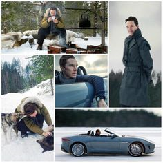 Benedict Cumberbatch Is A Snow God Stroking Dogs In Finland<<--My ovaries exploded everywhere.