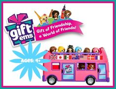Gift 'ems from JAKKS Pacific Little dolls that represent many world cities