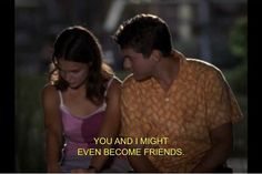 dawson's creek - where one of the best love stories began Dawsons Creek Quotes, Dawsons Creek Pacey, Tv Quotes, Movie Quotes, Dowson Creek, Movies Showing, Movies And Tv Shows, Pacey Witter, Best Tv Couples