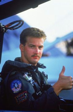 """THIS IS """"GOOSE,"""" """"MAVERICK'S"""" WING MAN AND BEST FRIEND -  A GREAT GUY"""