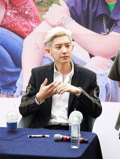 190724 Chanyeol What a Life Fansign Park Chanyeol Exo, Baekhyun, Kyung Hee, Seoul Korea, Husband Love, Chinese Boy, Knock Knock, My Idol, Boy Bands