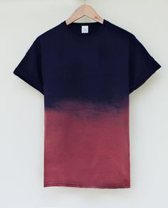 // ANDCLOTHING — Nightfall Dip Dye Tee | Raddest Looks On The Internet http://www.raddestlooks.net