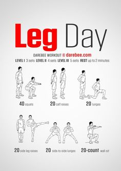 [ Well, it's a start but I wouldn't call it a… Leg Day – Darebee Workout. [ Well, it's a start but I wouldn't call it a leg day. Grab a barbell, ladies! Fitness Workouts, Leg Day Workouts, Gym Workout Tips, Workout Challenge, At Home Workouts, Fitness Tips, Glute Workouts, Fitness Weightloss, Calisthenics Leg Workout