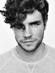 Perfect curly hair for men
