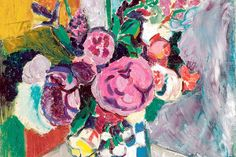 El bodegón de Henri Matisse ´Las peonías´, una de las primeras obras fauvistas del maestro francés, que la pintó en la localidad de Collioure. - Faro de Vigo