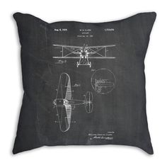 Hey, I found this really awesome Etsy listing at https://www.etsy.com/listing/226634767/airplane-pillow-airplane-throw-pillow