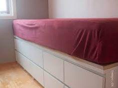 Image result for indbygget seng med opbevaring Small Spaces, Bedroom, Storage, Inspiration, Furniture, Home Decor, Purse Storage, Biblical Inspiration, Bedrooms