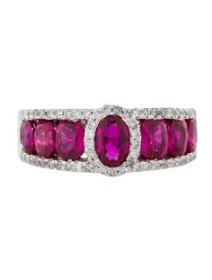 2.60ctw Ruby and Diamond Ring - Fine Jewelry - FJR21105 | The RealReal