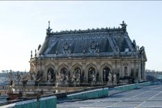 Versailles, Chapelle Royale from the rooftops. (Royal Chapel) © EPV / Thomas Garnier
