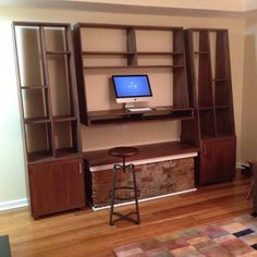 Perry And Co   Pittsburgh Custom Modern Furniture   Wall Mount Media Center  And Cabinets