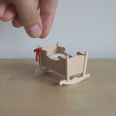 How it's made: A little Colonial Cradle — Little Architecture