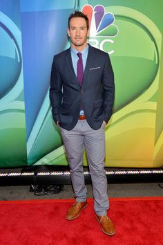 Mark-Paul Gosselaar attends The 2015 NBC Upfront Presentation at Radio City Music Hall on May 11, 2015 in New York City.