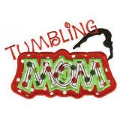 Tumbling Mom Applique