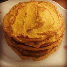 Sütőtökös palacsintatészta recept Waffles, Pancakes, Food And Drink, Bread, Breakfast, Ethnic Recipes, Fitness, Kitchen, Morning Coffee