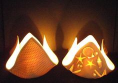 Tealights from Momentum Pottery in Scotland