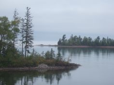 Beautiful view at Michigan's Copper Harbor in the U.P.