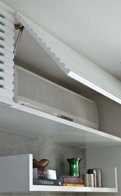 Olha que idéia legal para esconder o ar condicionado!