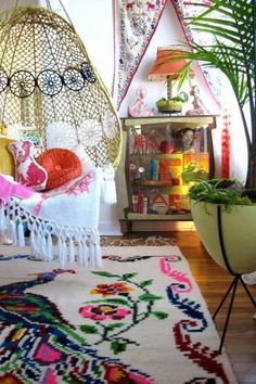 20 of the best bohemian room styles inspired by the 70's:
