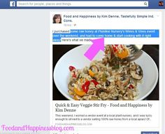 Can't share text anymore??? How to Highlight and Copy and Paste on Facebook. #FoodandHappiness