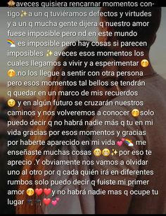 Cute Relationship Texts, Cute Relationships, Spanish Quotes Love, Happy Birthday Quotes For Friends, Boyfriend Texts, I Love My Son, Love Text, Love Phrases, Bullet Journal Ideas Pages