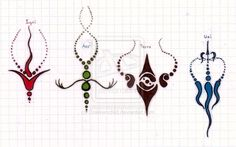 avatar tattoos elements - Google Search