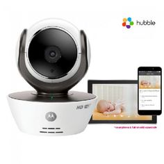 Motorola Baby Monitor Motorola MBP85 Connect HD Wi-Fi Video Baby Monitor The MBP85 Connect HD Wi-Fi video baby monitor allows you to keep an eye on your baby remotely via the free Hubble app from your iOS and Android Smartphone or Tablet. The motorised Pan, Tilt and Digita http://www.MightGet.com/january-2017-12/motorola-baby-monitor-motorola-mbp85-connect-hd-wi-fi-video-baby-monitor.asp
