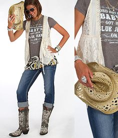 View our women's Shop By Outfits created just for you at Buckle. Find inspiration on how to pair the latest fashion trends into full outfits for women. Country Fashion, Country Outfits, Rock Revival Outfit, Summer Outfits, Cute Outfits, Baby Outfits, Cute Baby Clothes, Clothes For Women, Buckle Outfits