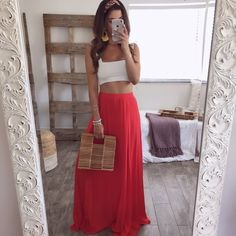 Nadya Maxi Skirt | OHM BOUTIQUE