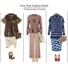 Fashion Week outfits - part II by matea on Polyvore featuring мода, STELLA McCARTNEY, A.F. Vandevorst, VALENTINE GAUTHIER, Pierre Hardy, Christian Louboutin, Lanvin, Reiss, Burberry and Sonia by Sonia Rykiel