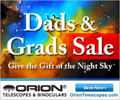 Save on out-of-this-world gifts during our Dads & Grads Sale! Whether you're shopping for a Dad, a Grad, or both, astronomy gear gifts from Orion serve as a welcome reminder that we never stop learning in life, as long as we look up and wonder. Orion Telescopes, Solar Eclipse Facts, Never Stop Learning, Astronomy, Binoculars, Dads, Gifts, Shopping, Presents