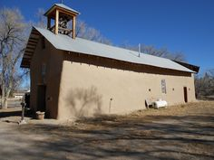The Old Church in Ojo Caliente New Mexico