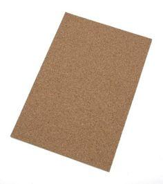 "Darice Cork Sheet 1/8"" Thick 12""x18"" at Joann.com. 6.99 online 12""x18""x1/8"""