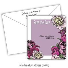 Botanical Dreams - 3.5x4 Wedding Magnet with FREE Printed Envelopes (250) * Read more at the image link. (This is an affiliate link) #PhotoAlbumsandAccessories