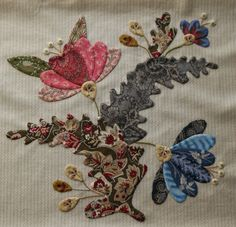 """JANE'S THREADS AND TREASURES: """"...A Mysterious Block.."""", Caswell quilt pattern by Corliss Searcey"""